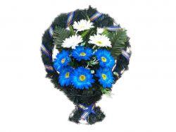 Кошик з квітами політелен №564/612 (50х40см) ТМХАРЬКОВ