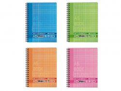Блокнот А5 80арк. карт. обкладинка рожева КВ5580 ТМГРАФІКА
