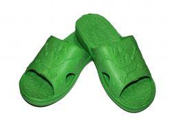 Капці пляжні дитячі (6 пар) Губка-Боб (30-35р.) зелені SV-013 ТМCROSS