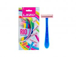 Станок одноразовий для гоління Лезо Ріо (4шт) ТМLEZO