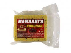 Прикорм «Мамалига» CANEPA (конопля) 0,5кг ТМ3K BAITS