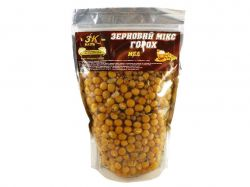 Прикорм «Зерновий МІКС ГОРОХ» (мед) 0,5кг ТМ3K BAITS