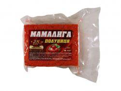 Прикорм «Мамалига» CAPSUNA (полуниця) 0,5кг ТМ3K BAITS