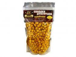 Прикорм «Солодка кукурудза» (натуральна) 0,4кг ТМ3K BAITS