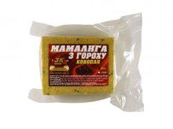 Прикорм «Мамалига з гороху» CANEPA (конопля) 0,5кг ТМ3K BAITS