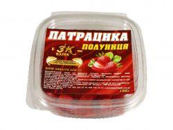 Наживка «Патрацика насадна» CAPSUNA (полуниця) 0,100кг ТМ3K BAITS
