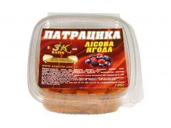 Наживка «Патрацика насадна» TUTTI FRUTTI (лісова ягода) 0,100кг ТМ3K BAITS