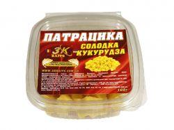 Наживка «Патрацика насадна» PORUMB DULCE (солодка кукурудза) 0,100кг ТМ3K BAITS