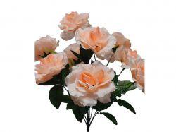 Букет Роза шовк, 9 бутонів вис. 46см. арт.285 ТМЗАПАДНАЯ