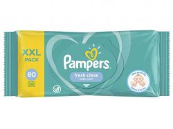 Серветки вологі дитячі Fresh Clean 80шт ТМPampers
