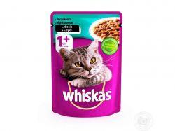 Пауч для д/котів з кроликом в соусі 100г ТМWHISKAS
