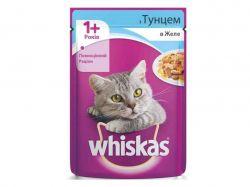 Пауч для д/котів з тунцем в желе 100г ТМWHISKAS