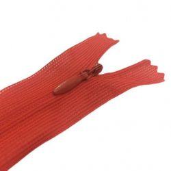 Блискавка потайна нераз 18см S-819 червоний ZIP ТМWelltex