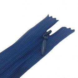 Блискавка потайна нераз 18см S-027 синій ZIP ТМWelltex
