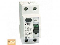 УЗО 4Р (чотирьохполюсне) 40А 30МА 230V VTR4-4030 ТМ VIKO