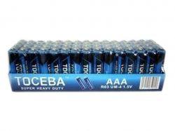Батарейка TOCEBA R03 4шт. в спайке ТМTOCEBA
