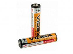 Батарейка Videx R03 4шт. в спайке ТМVidex