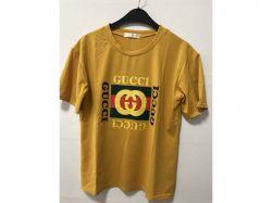 Футболка Gucci горчиця полубатал р.46 ТМMercan