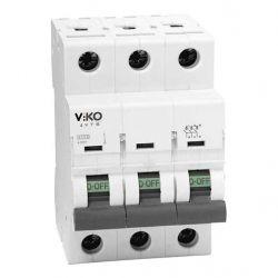Автоматичний вимикач 3C 63А ТМVi-KO