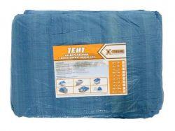 Тент будівельний 55гр/м2, 8 х 10м синій ТМX-TREME