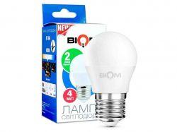 Лампа світлодіодна G45, E27 4 Ватт BT-544 ТМBIOM