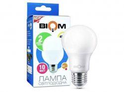 Лампа світлодіодна А60, E27 10 Ватт BT-510 ТМBIOM