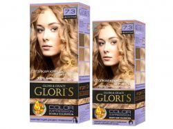 Крем-фарба д/волосся (1го застосування) 7.3 Світло-русявий ТМGloris
