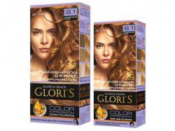 Крем-фарба д/волосся (1го застосування) 7.34 Кава з молоком ТМGloris