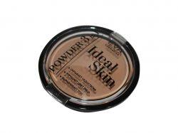 Пудра 3 і 1-IDEAL SKIN №05-deep beige ТМ EVA cosmetics