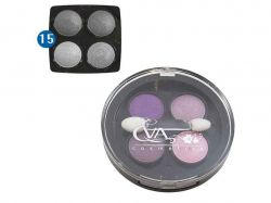 Тіні д/повік 3 в 1 -№15 (чотирьох кольорові) ТМ EVA cosmetics