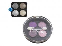Тіні д/повік 3 в 1 -№16 (чотирьох кольорові) ТМ EVA cosmetics