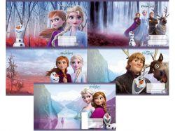 Зошит 12 арк.# ©Disney, серія Frozen, Холодне серце, 25шт ТМТЕТРАДА