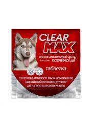 Антигельмінтний засіб КліарМакс для собак табл. №1 (1г) ТМO.L.KAR
