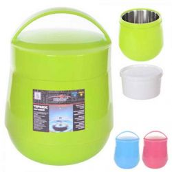 Термос 2л (пластикскло) 2 чашки MT-3321 ТМSTENSON