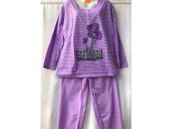 Піжама жіноча на байці батал р.XL арт.GUPpr1003-B78v мікс ТМ SHELLY