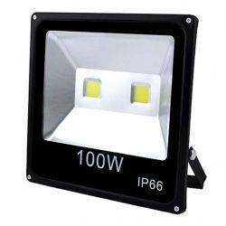 Прожектор 100W 2COB, IP66, гладкий рефлектор - 10 ТМКитай