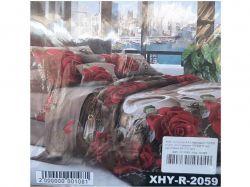 КПБ бязь 2-спальний з наволочкою 50х70 арт.XHY-R-2059 ТМКитай