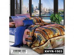 КПБ бязь 2-спальний з наволочкою 50х70 арт. XHYQT-669 ТМКитай