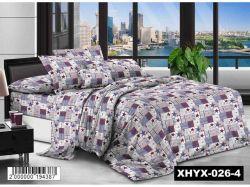 КПБ бязь 2-спальний з наволочкою 70х70 арт.XHYX-026-4 ТМКитай