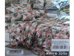 КПБ бязь 2-спальний з наволочкою 70х70 арт.XHYR-3250 ТМКитай