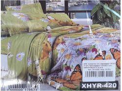 КПБ бязь 2-спальний з наволочкою 70х70 арт.XHYR-420 ТМКитай