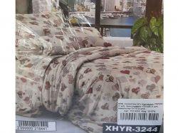 КПБ бязь 2-спальний з наволочкою 70х70 арт.XHYR-3244 ТМКитай