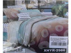 КПБ бязь 2-спальний з наволочкою 70х70 арт. XHYR-2986 ТМКитай