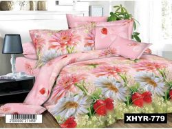 КПБ бязь 2-спальний з наволочкою 70х70 арт. XHYR-779 ТМКитай