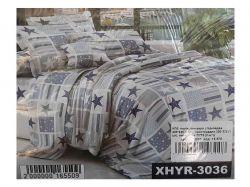 КПБ бязь 2-спальний з наволочкою 70х70 арт. XHYR-3036 ТМКитай