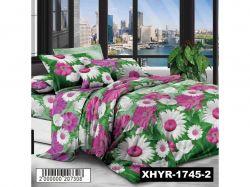 КПБ бязь 1,5-спальний з наволочкою 70х70 арт.XHYR-1745-2 ТМКитай