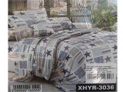 КПБ бязь 1,5-спальний з наволочкою 70х70 арт. XHYR-3036 ТМКитай
