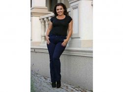 Джинси жін. полубатальніе на блискавки, р.33 мікс арт.Baz15-050247fi ТМFANAT