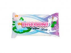 Вологі серветки 15 шт з ароматом лотоса ТМDiscount