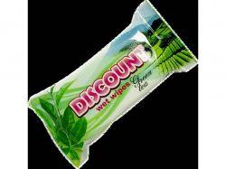 Вологі серветки 15 з ароматом зеленого чаю ТМDiscount